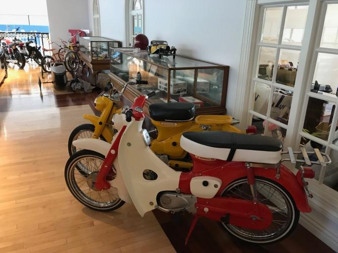 Honda 50 and Honda 90 Super Cub motorcycles.