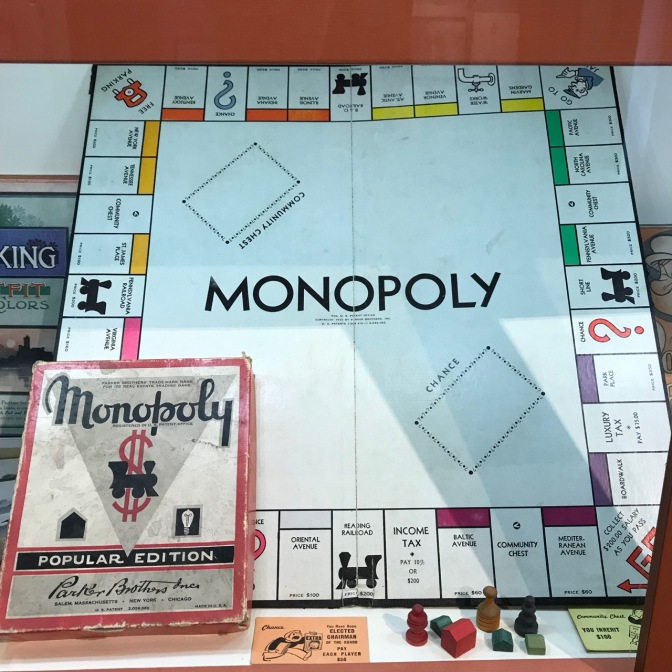 Board game for Monopoly.