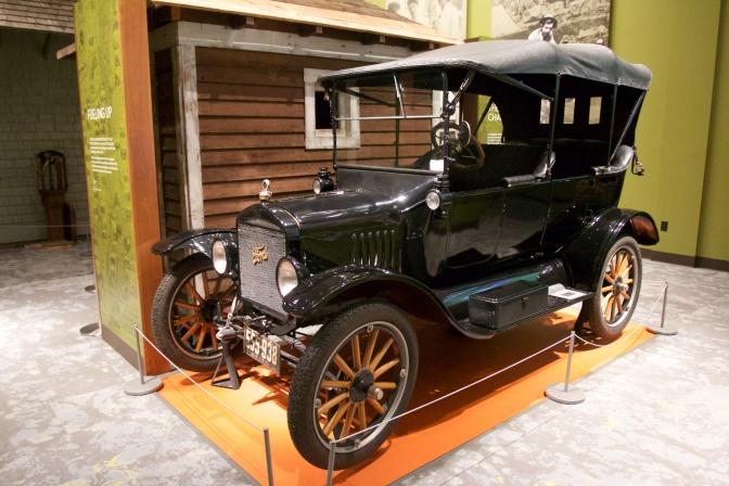 1921 Ford Model T touring model.