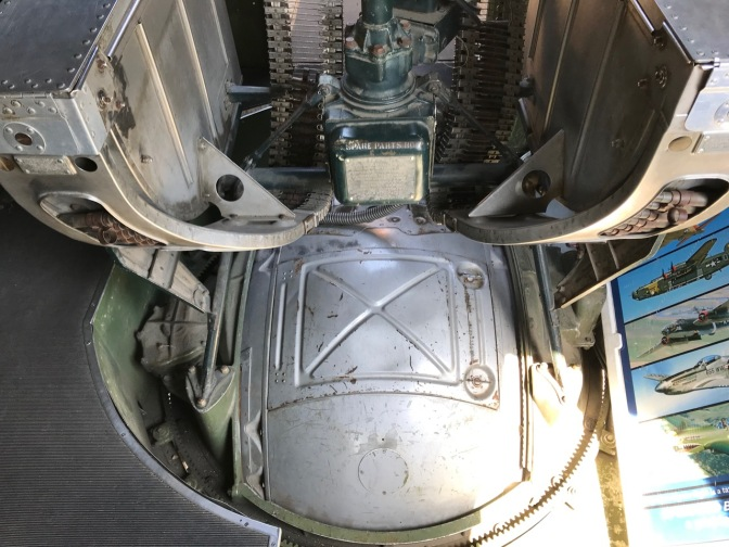 Hatch and top of ball gunner turret.