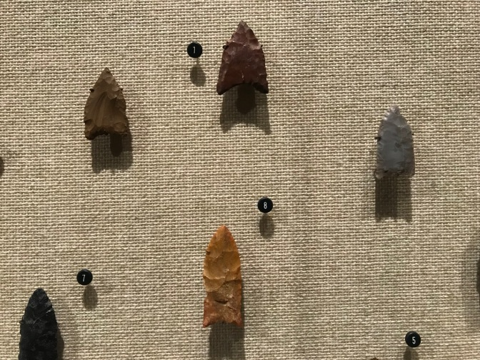 Native American spear points.