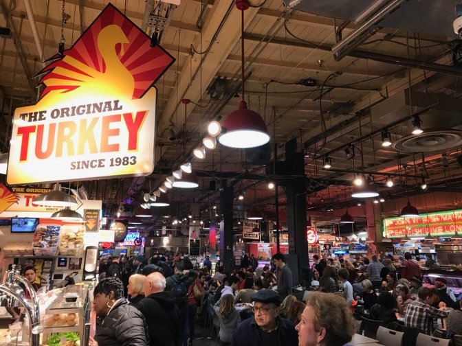 Interior of Reading Terminal Market.