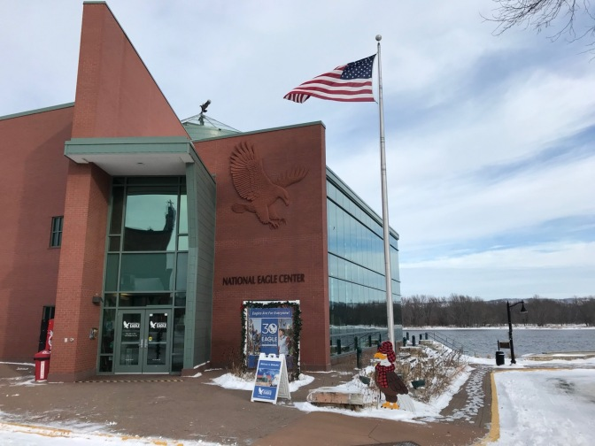 Exterior of National Eagle Center.