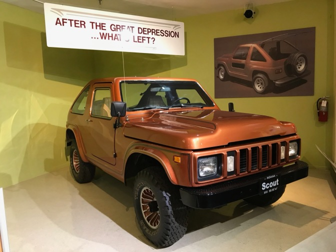 International Harvester Scout prototype.