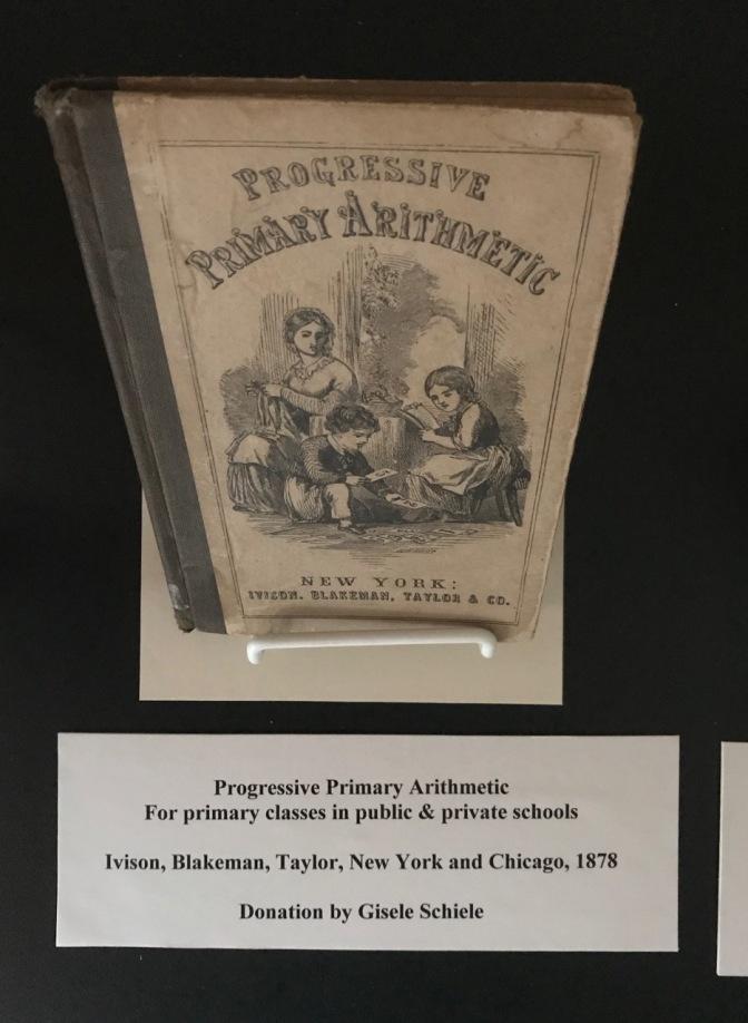 19th century math primer textbook.