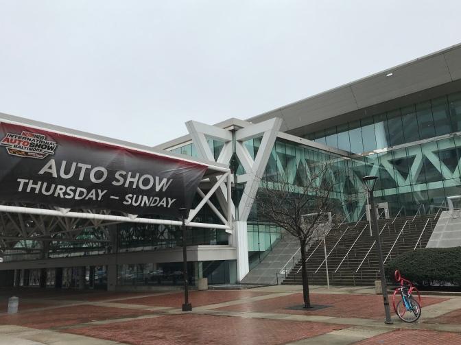 Exterior of Baltimore Convention Center.