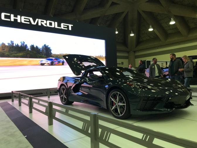 2020 Chevrolet Corvette.