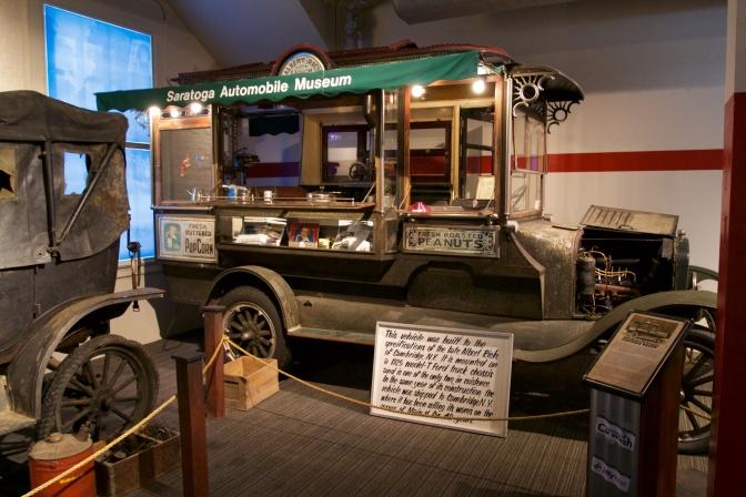 Model T food truck.
