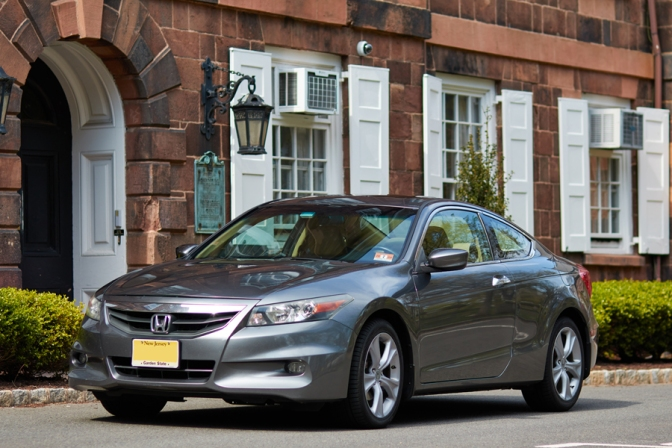 2012 Honda Accord parked in front of Old Queens at Rutgers University.