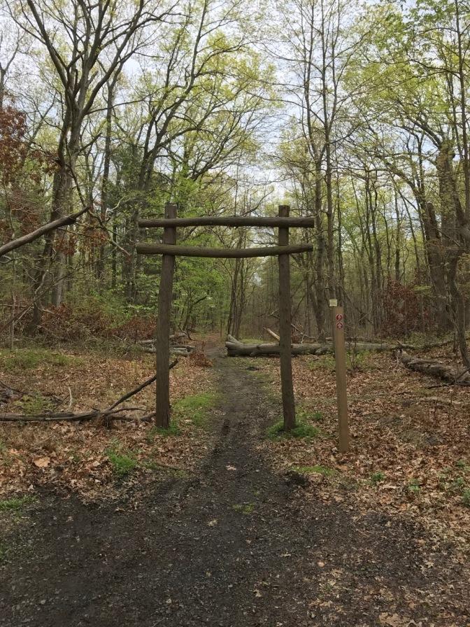 Trailhead for Jamesburg Park Conservation Area