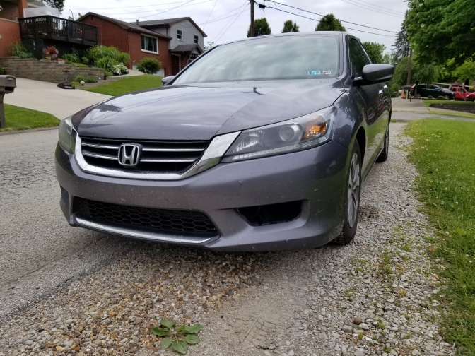 Gray 2015 Honda Accord sedan.