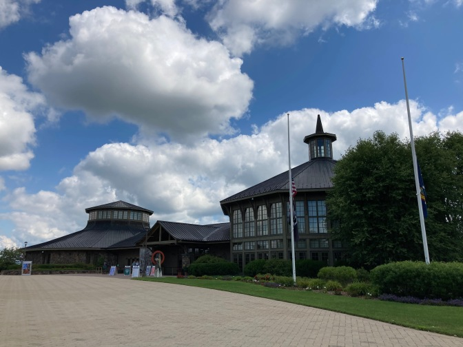 Exterior of Bethel Woods Center for the Arts.