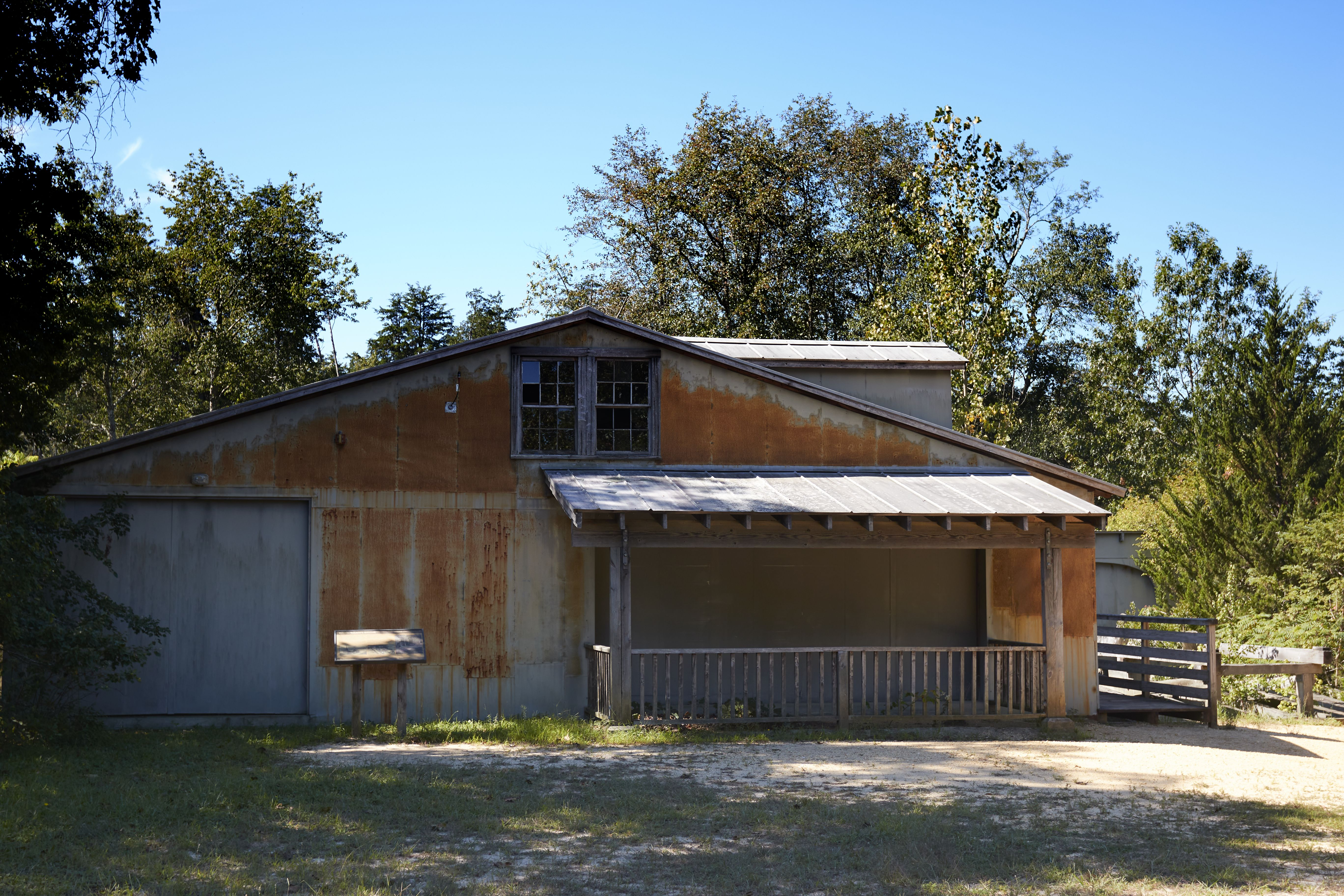 Exterior of Sawmill.