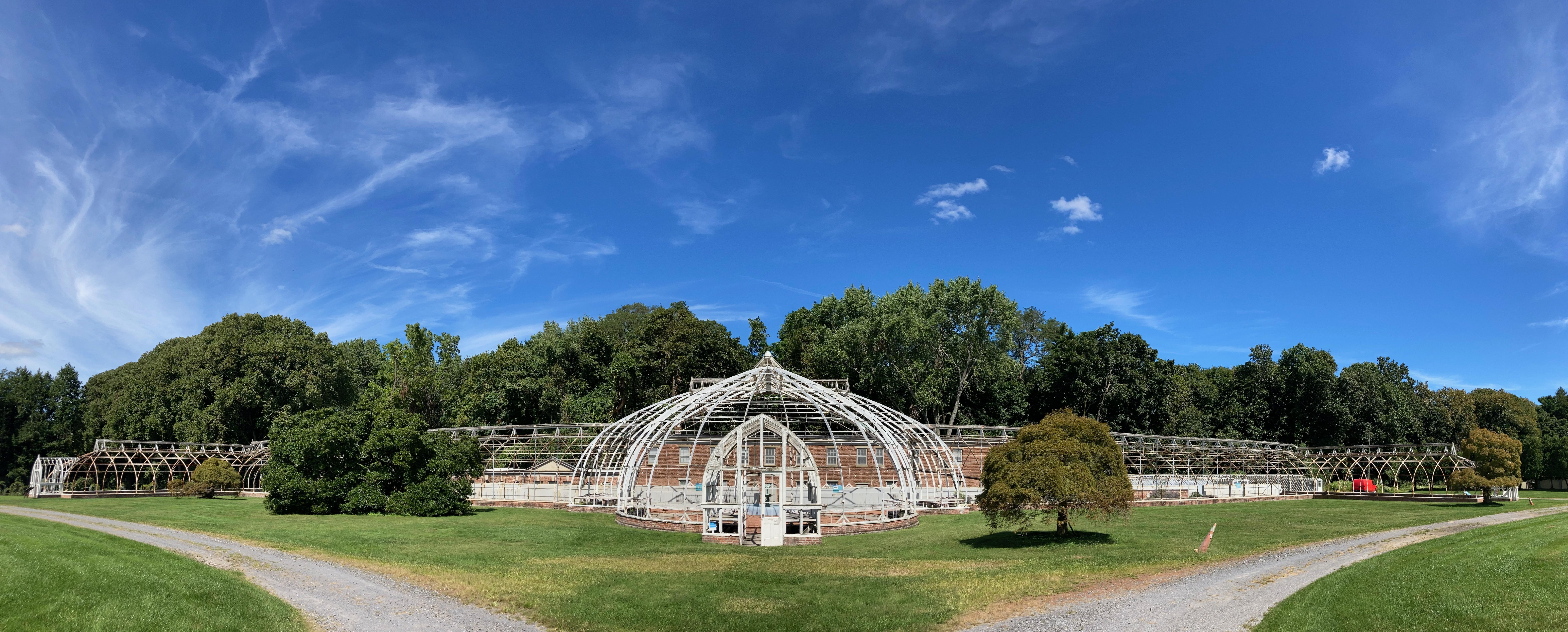 Panorama of Greenhouse.
