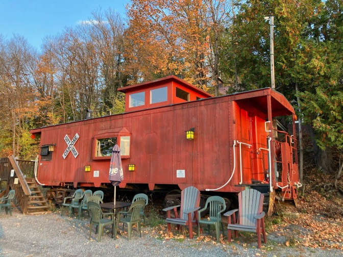 Red caboose gift shop.