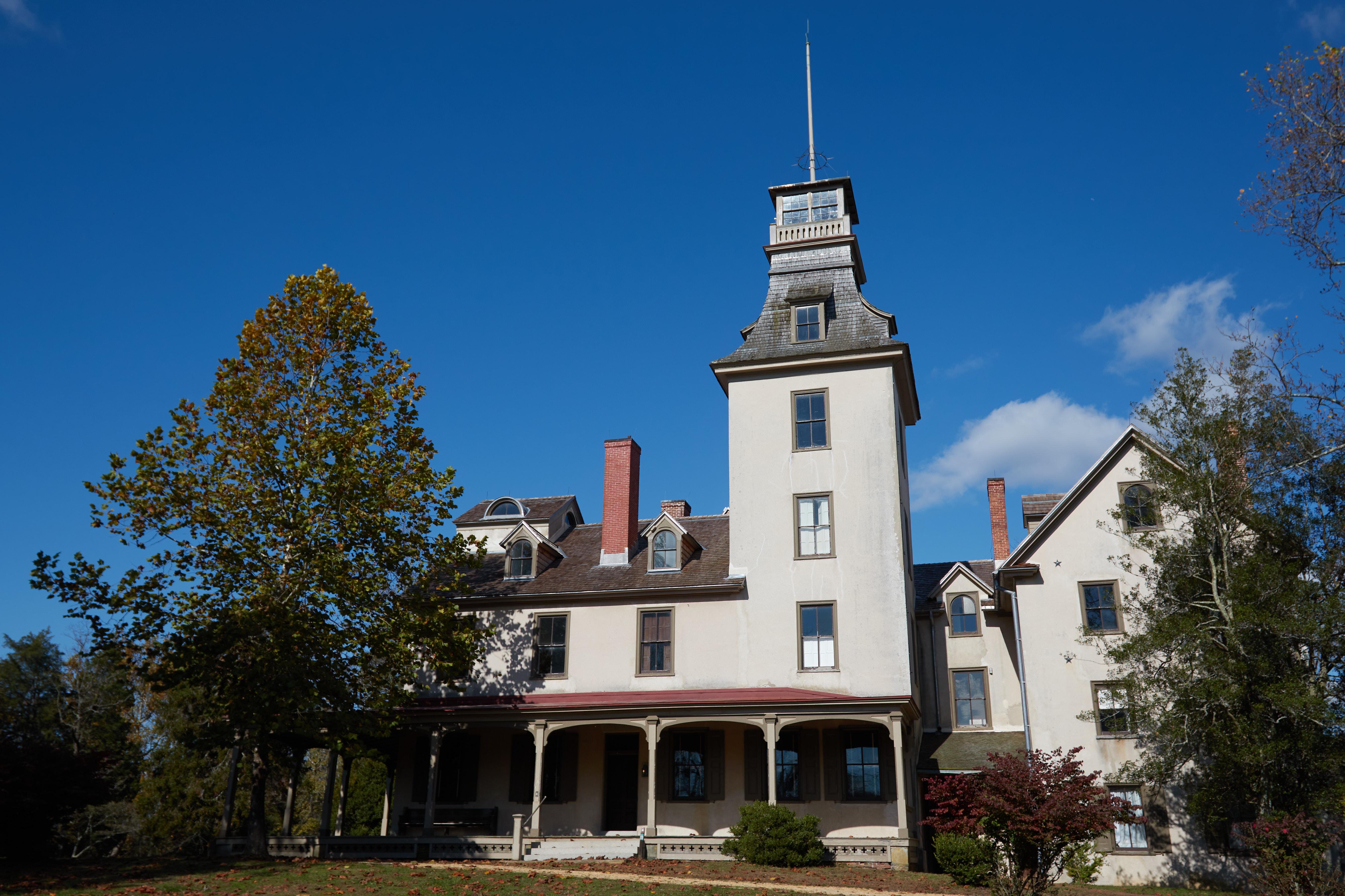 Exterior of Mansion at Batsto.