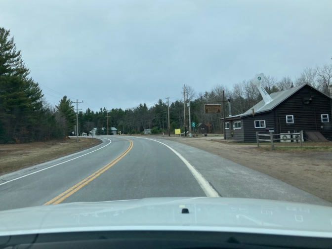 View of Wigwam Tavern on Route 28.