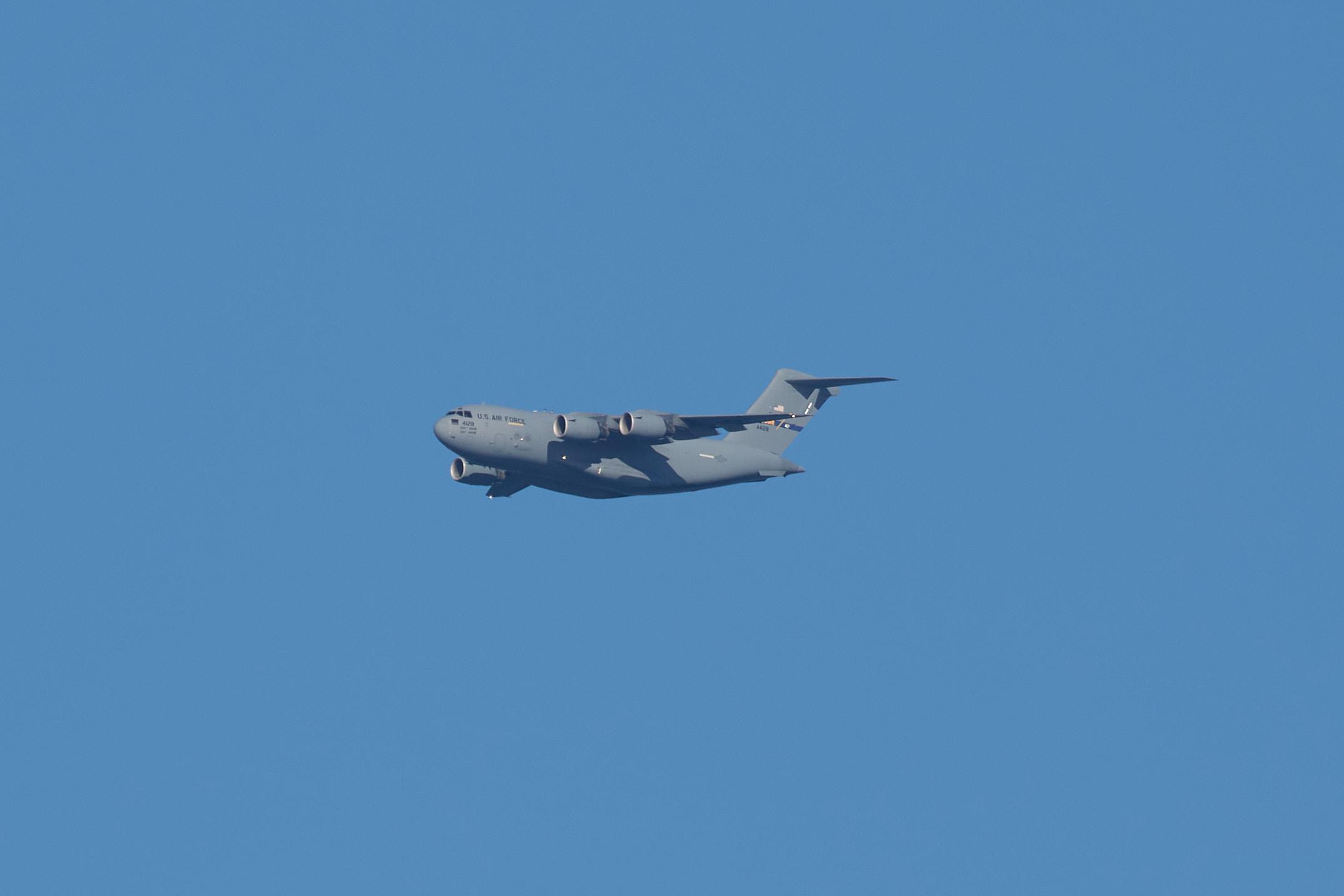 C-5A Galaxy transport plane.