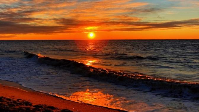 Sunset at sunset beach.