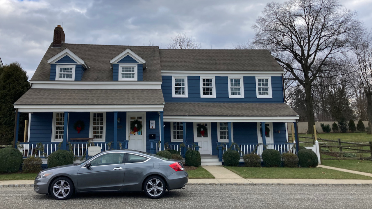 2012 Honda Accord, parked in front of The Blue House.
