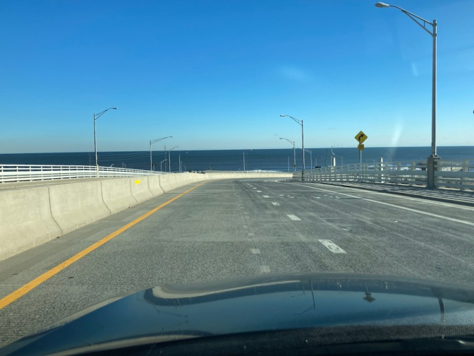 View of Atlantic Ocean from Route 36.