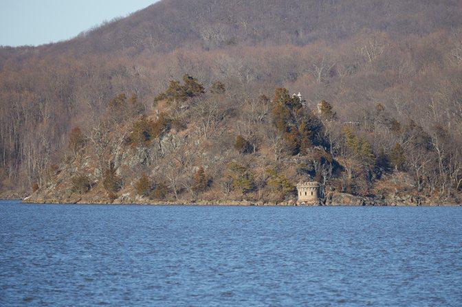 Rear view of Bannerman Castle.