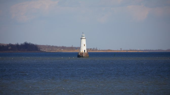 Great Beds Light in Raritan Bay.