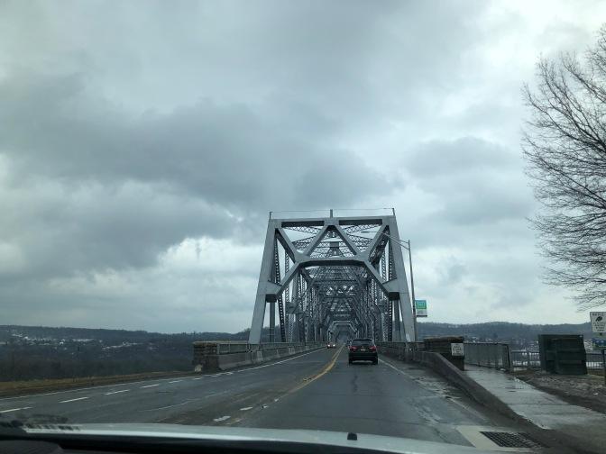View of Rip Van Winkle Bridge.