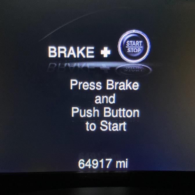 Car odometer reading 64917 mi