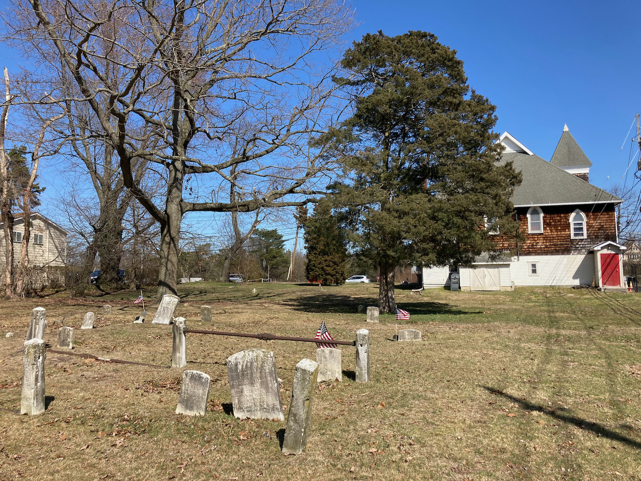 Graveyard behind Mt. Pisgah Church.