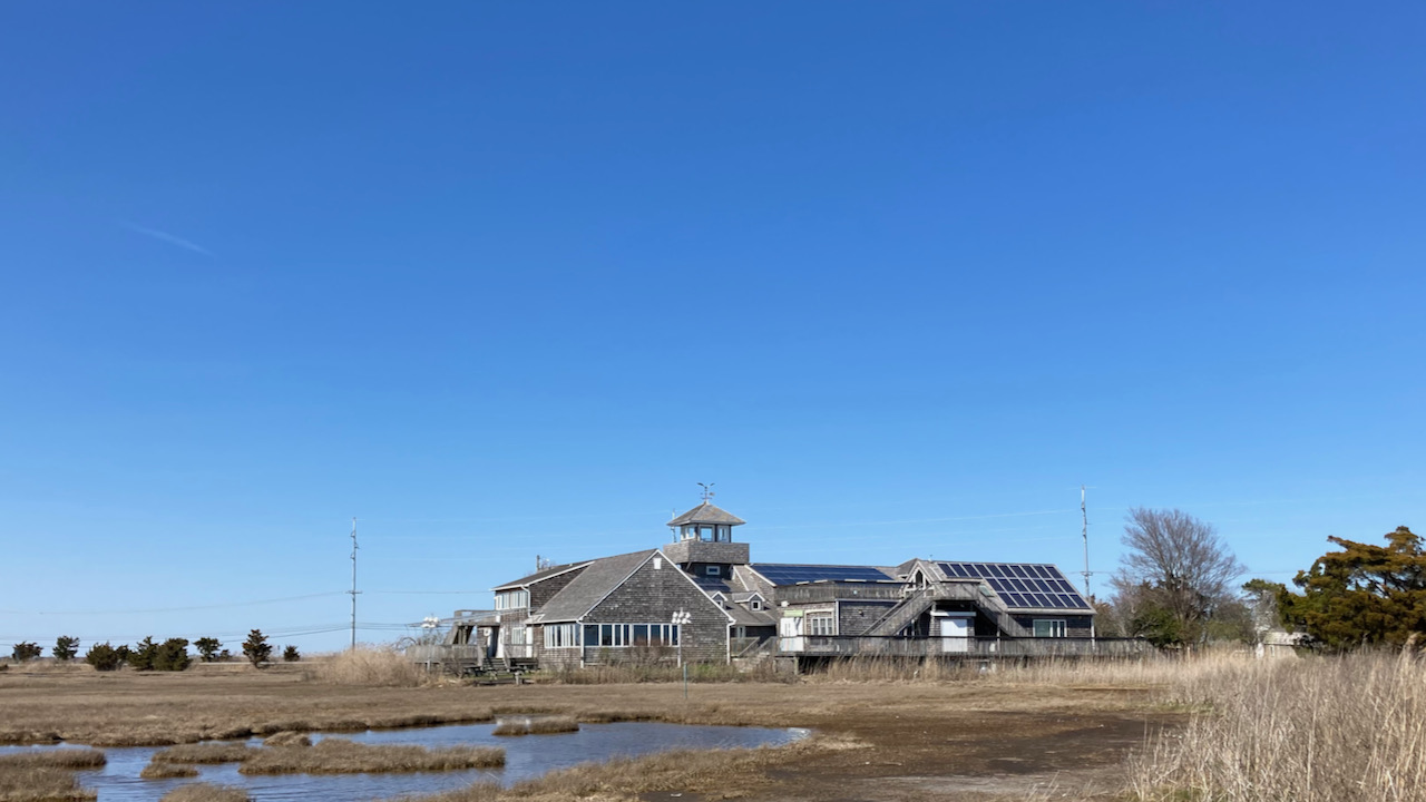 Exterior of The Wetland Institute.