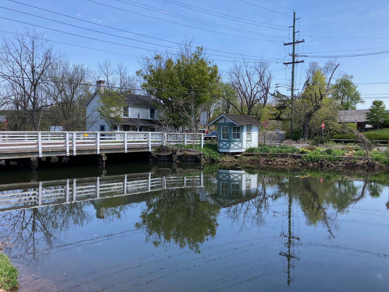 Delaware and Raritan Canal.