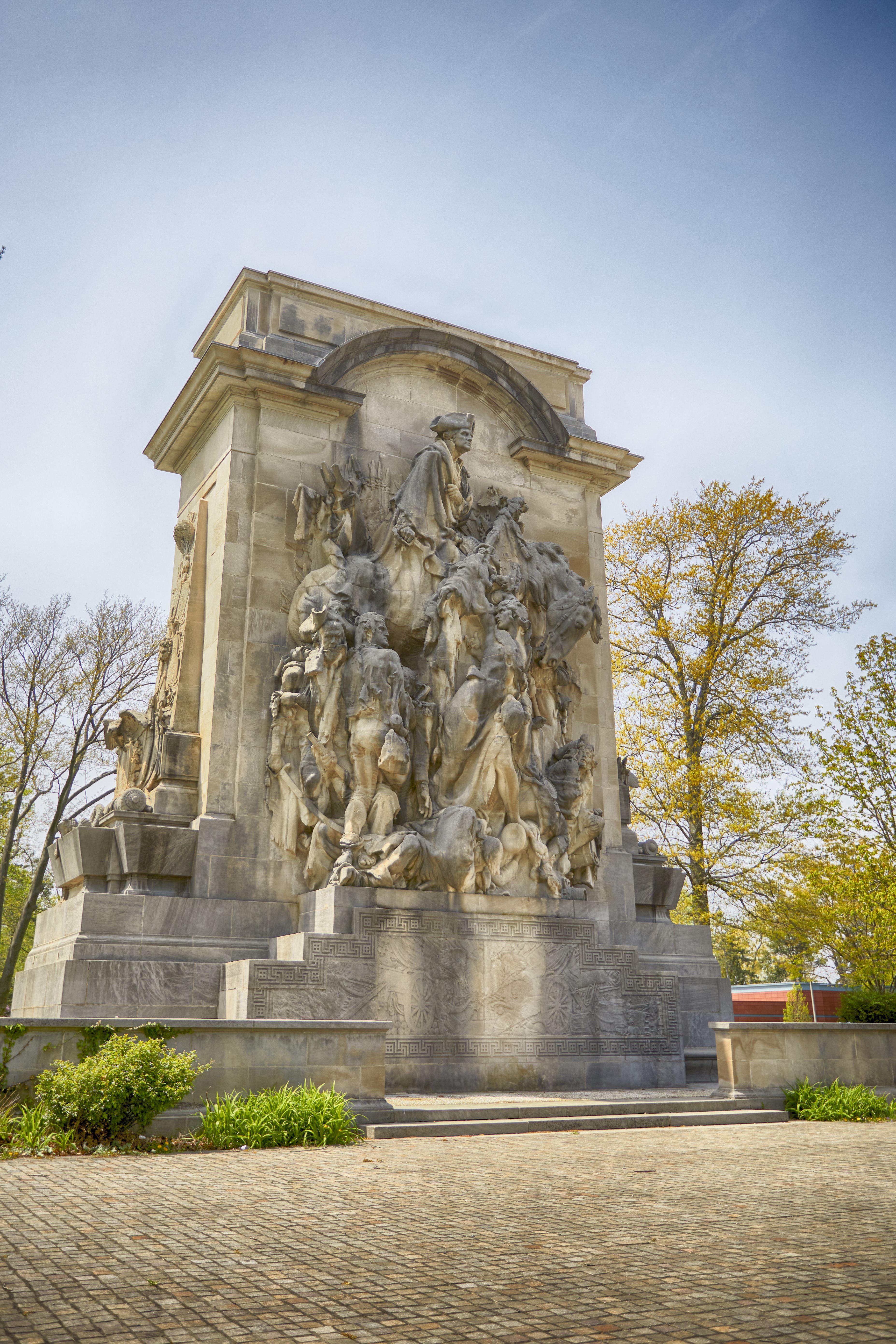 Princeton Battle Monument.