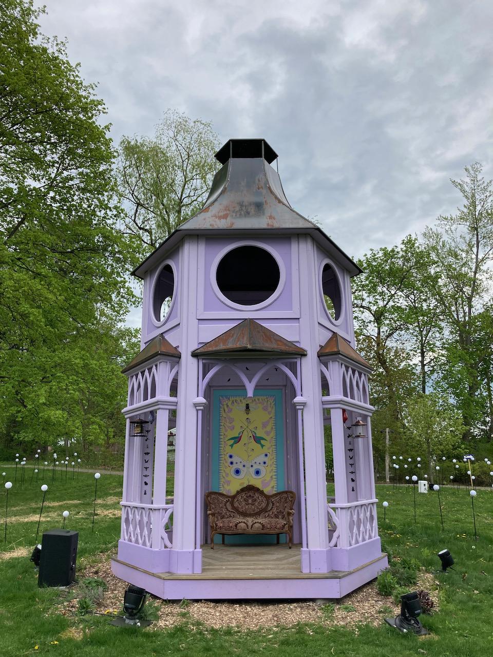 Pollinator Pavilion.