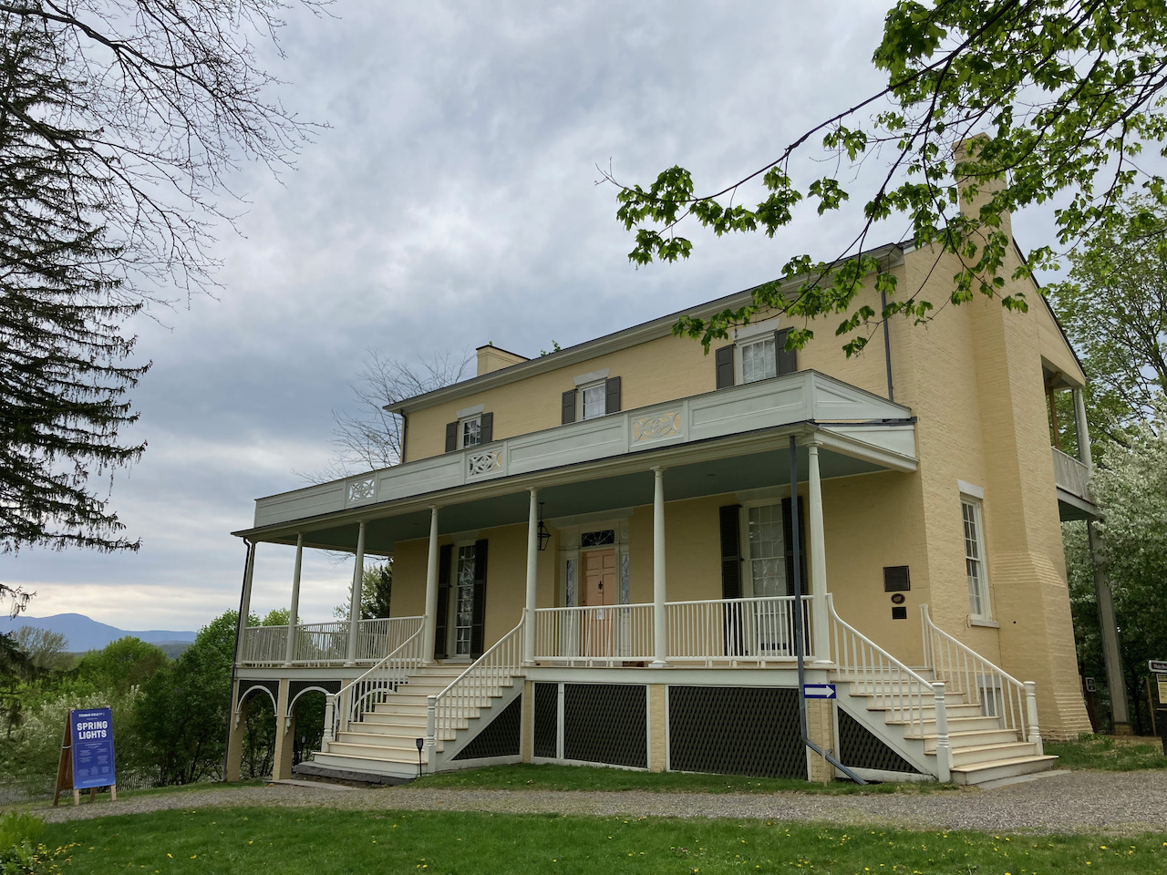 Exterior of Thomas Cole National Historic Site.