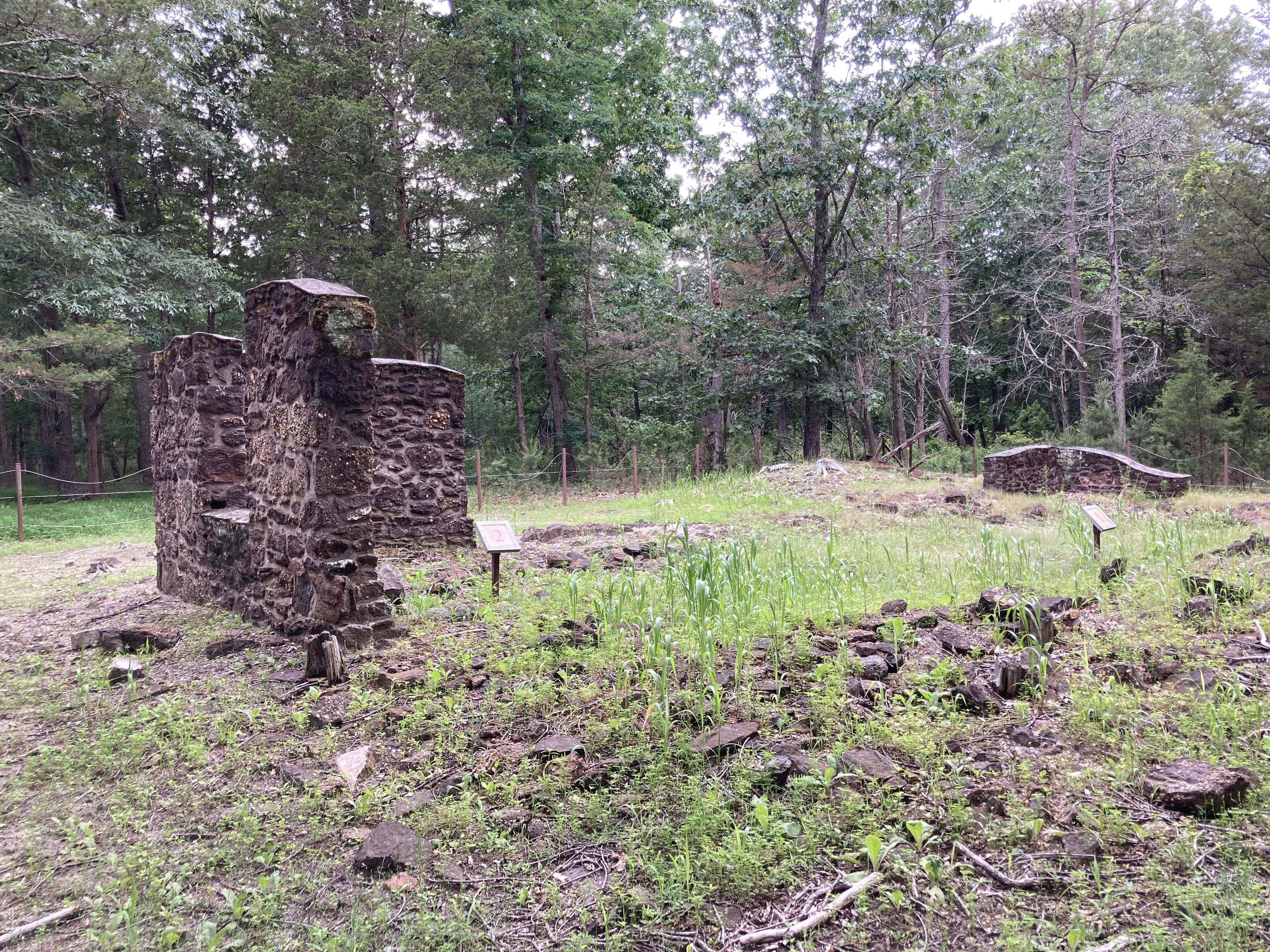 Ruins of The Pot House.
