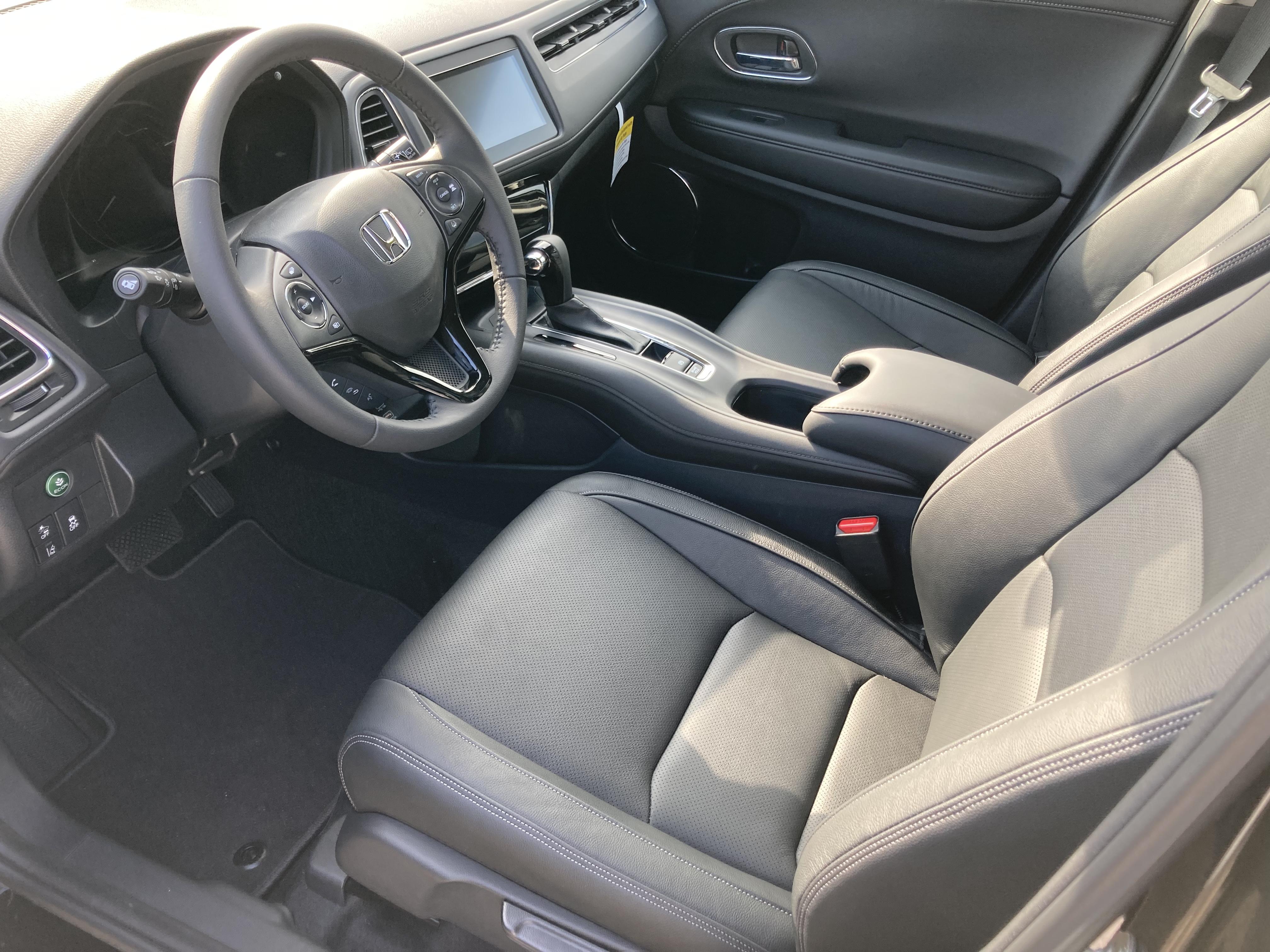 Interior of 2021 Honda HR-V.