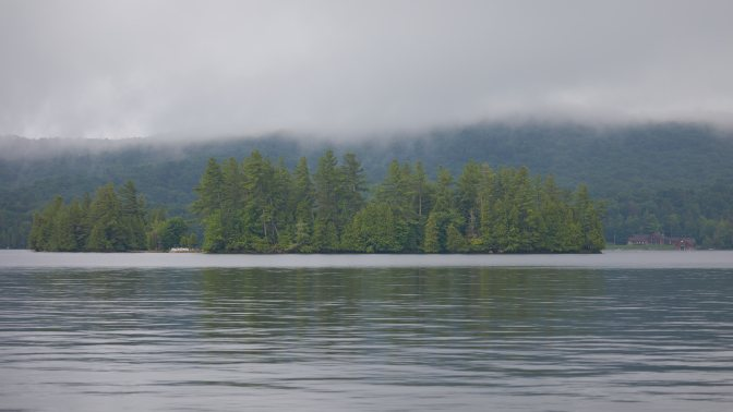 View of Fourth Lake.