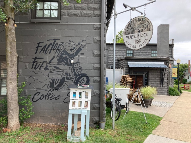 Exterior of Factory Fuel Coffee House.