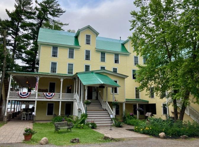 Exterior of The Woods Inn.