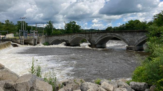 Newport Stone Arch Bridge.