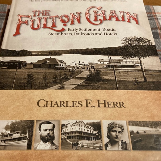 Book titled THE FULTON CHAIN by Charles E. Herr.