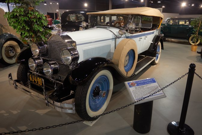 1926 Packard 5-26 Phaeton.