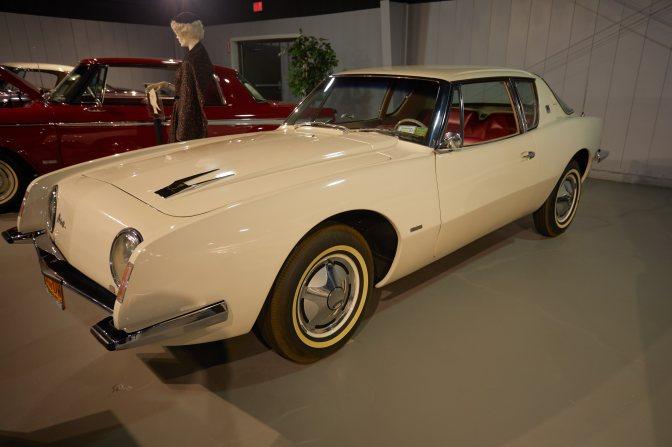 Studebaker Avanti, in white.