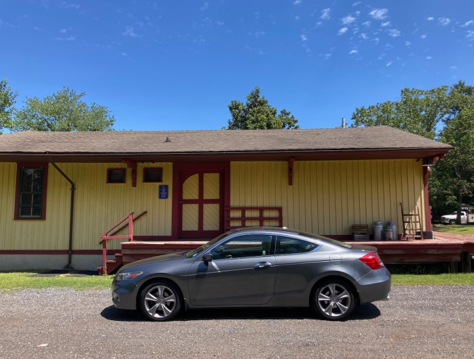 2012 Honda Accord parked in front of Long-A-Coming Depot.