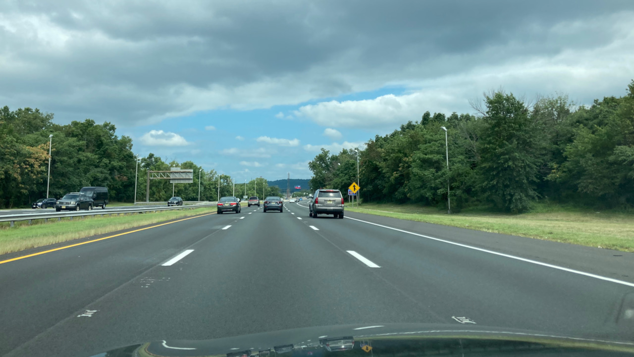 View of I-287.
