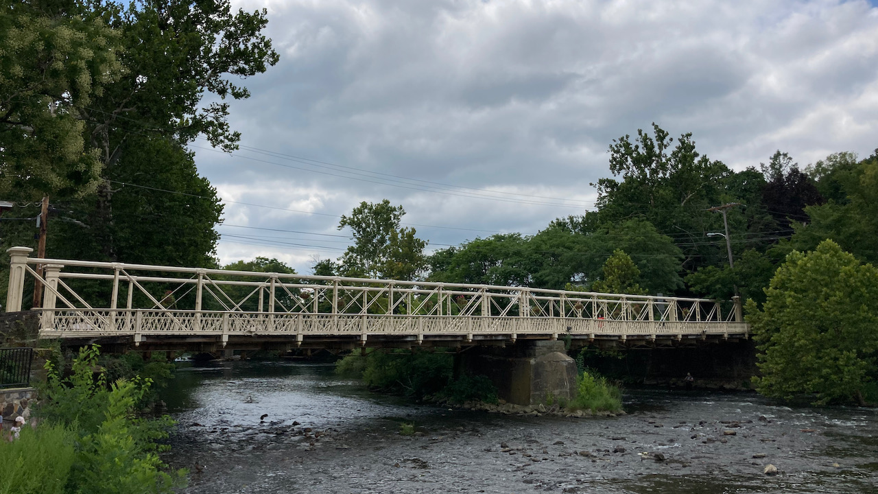 Main Street Bridge in Clinton.