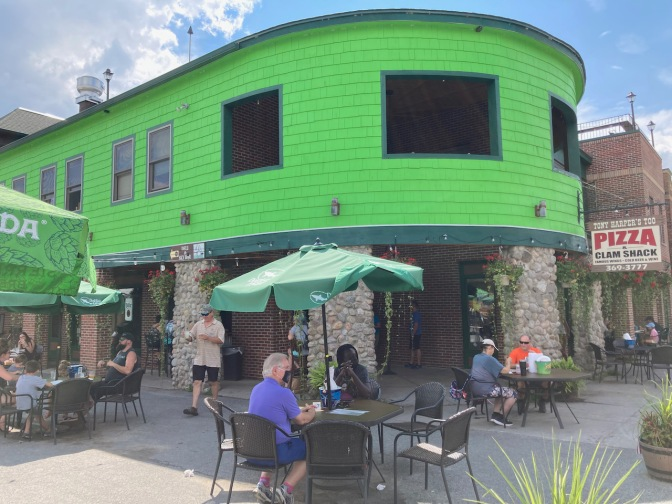 Exterior of Tony Harper's in Old Forge.