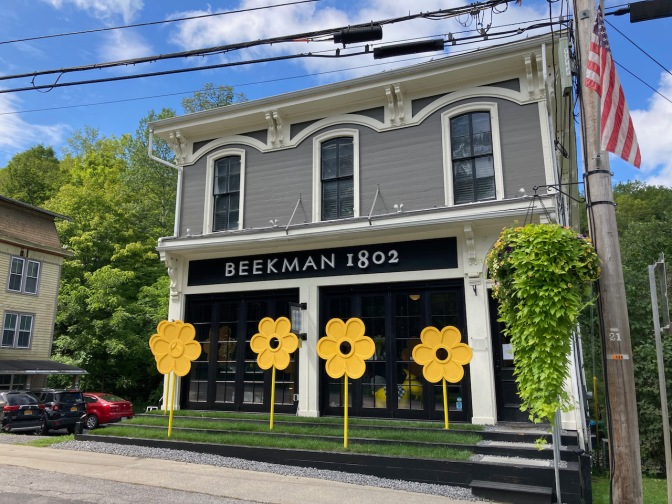 Beekman 1802 store in Sharon Springs, NY.
