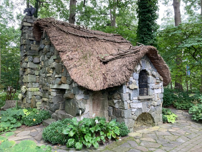 Stone house in the Enchanted Forest.